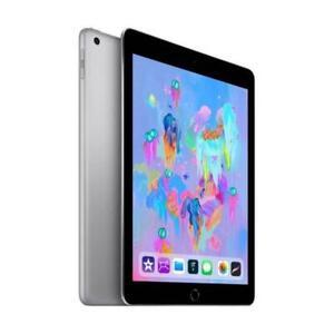 Apple iPad 6th Gen 32GB Space Gray Cellular MR6Y2LL/A