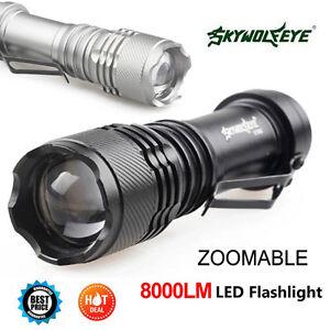 SkyWolfeye-8000-LM-Q5-LED-Flashlight-Zoomble-Mini-Torch-Light-Lamp-AA-14500-LJ
