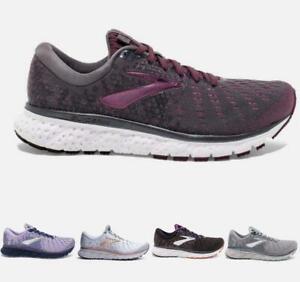 Women-039-s-Brooks-Glycerin-17-Running-Athletic-Shoes-Black-Ebony-Grey-Purple-White