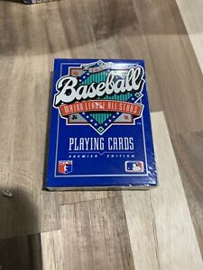 1990 Major League Baseball All-Stars Playing Cards Premier Edit  Factory Sealed