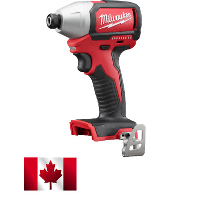 "Milwaukee 2750-20 M18 1/4"" Hex Compact Brushless Impact Driver"