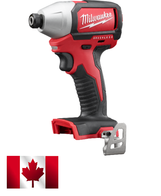 "Milwaukee 2750-20 M18 1/4"" Hex Compact Brushless Impact Driver"