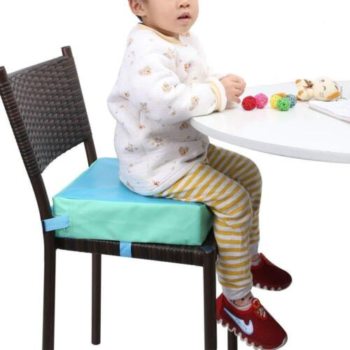 Kids Children High Chair Increased Safe Booster Toddler Dining Seat Pad Cushion