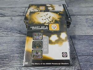 Heart Of A Champion: The Story of the 2002 Pittsburgh Steelers (DVD) Pack of 4