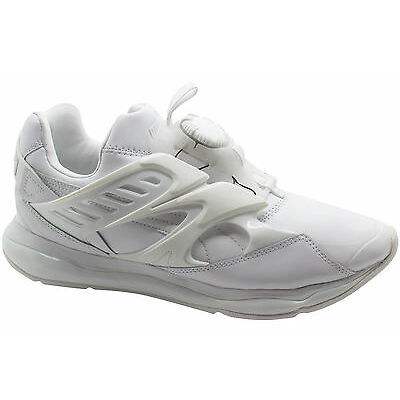 Puma Disc Blaze Cell Mens Trainers Slip On Shoes White 360078 02 D3