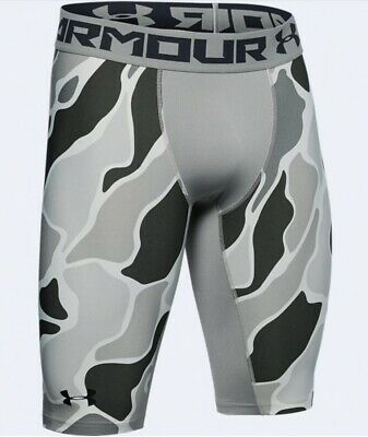 Details about  /NWT UNDER ARMOUR Camo Men/'s HEATGEAR COMPRESSION Padded Gameday Shorts Sz L