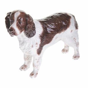Beswick-English-Springer-Spaniel-Dog-Liver-White-NEW-in-BOX-JBD80LW