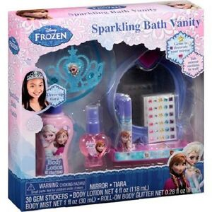 Disney-Frozen-Sparkling-Personal-Care-with-Tiara-and-Sticker-Earrings-Lotion