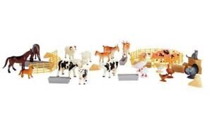 Chad-Valley-Farm-Figures-Bucket-50-Piece-Realistic-Farm-Animals-Figures-NEW-UK