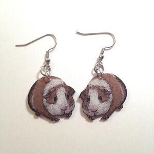 Guinea-Pig-Cavie-Earrings-Handmade-Plastic-Made-in-USA