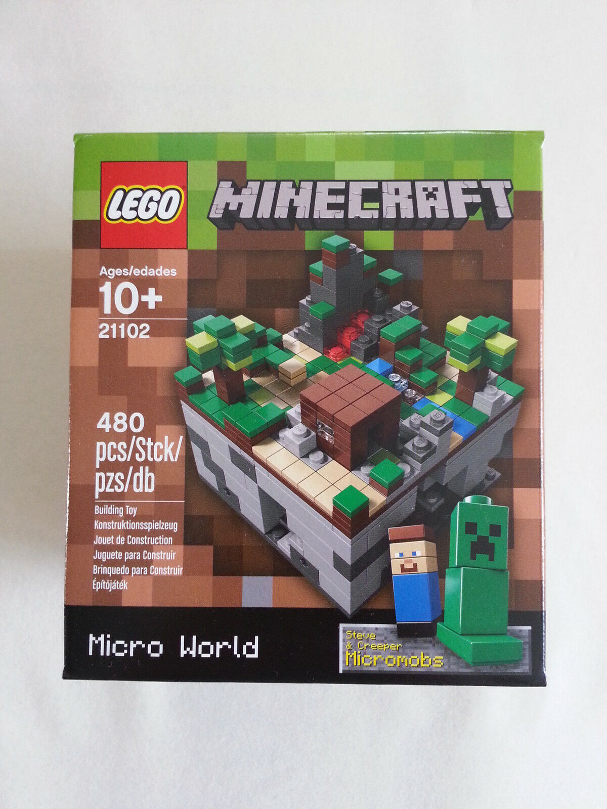 Lego Cuusoo 21102 Minecraft  Micro World Neuf & Emballage D'Origine   Neuf Scellé  mieux acheter