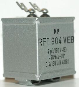 20x Ölpapier Kondensator 4uF 160V NOS (nur 4,50 Euro/Stk) Röhrenverstärker - Dobl-Zwaring, Österreich - Rücknahmen akzeptiert - Dobl-Zwaring, Österreich