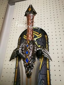 Sword Of Anduin Lothar World Of Warcraft Cosplay Anduin S Sword Blade Ebay