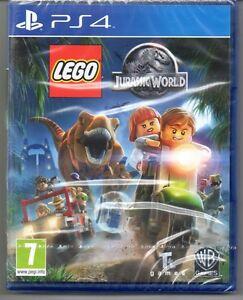 LEGO-JURASSIC-WORLD-034-NUOVO-amp-Sealed-039-PS4-quattro
