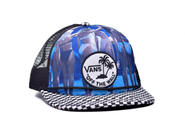 d99a97f902189 VANS Hank Bikini Surfing Mens Unisex Skate Co. Black Snapback Hat One Size