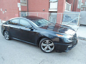 2013 Acura TL TECH PACKAGE, BROWN LEATHER SEATS ,SKIRT PACKAGE!