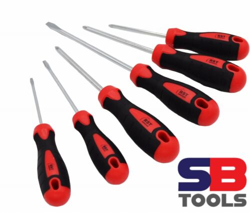 Slot RST RSD006 6 piece professional screwdriver set With CRV Blade ph pozi