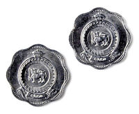 Sri Lanka Coin Cufflinks - Men's Jewelry - Handmade - Gift Box
