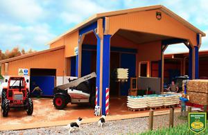 de moda Maleza Juguetes Cobertizo Almacén Casa Casa Casa de becerro con escala 1 32 BT8800  edición limitada en caliente
