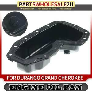 New Oil Pan Front Driver or Passenger Side Lower RH LH Driver//Passenger for Jeep