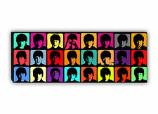 BEATLES HARD DAYS NIGHT POP ART CANVAS 15x40 inch Panoramic Wall Art Print