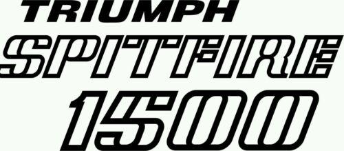 Triumph Spitfire 1500 Autocollant Decal