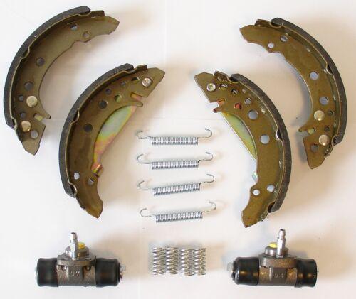 Ford fiesta sin ABS set zapatas radbremszylinder accesorios atrás