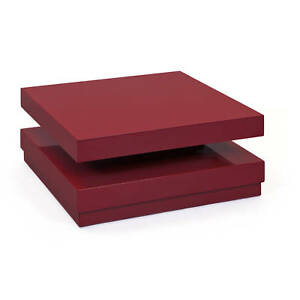 Table-basse-carree-couleur-marsala-surface-brillante-en-MDF-75x75x31-cm