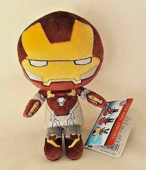 Marvel Spider-Man Homecoming Iron Man Hero Peluches Plush Toy