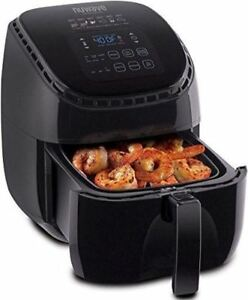 Brand New Nuwave 36011 Brio 3q Hot Air Fryer 1300w 3 Qt Black W Bonus 652185360112 Ebay