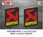 Sticker-Vinilo-Decal-Vinyl-Aufkleber-Adesivi-Autocollant-Akrapovic-Exhaust-LOGO2 miniatura 3