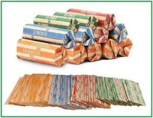 """200  FLAT COIN WRAPPERS /""""NICKEL/"""""""