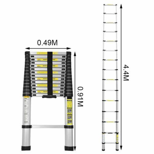 Teleskopleiter Stehleiter Mehrzweckleiter Klappleiter Multifunktionsleiter Alu