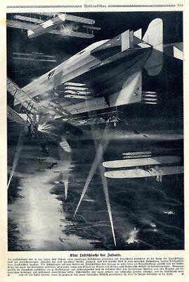 Transport Eine Luftschlacht Der Zukunft Zeichnung Und Text Von 1909 Delicacies Loved By All