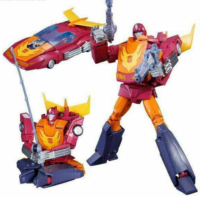 New Takara Tomy Transformers Masterpiece MP-28 Hot Rodimus in Stock
