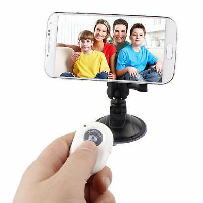 Wireless Bluetooth Camera Remote Control Self-timer Shutter For iPhone Samsung C