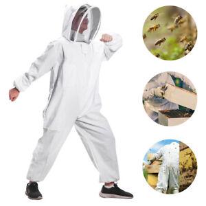 Apicoltori-Ape-Completo-da-uomo-Apicoltura-Pelle-Ventilato-protettivo-Easibee