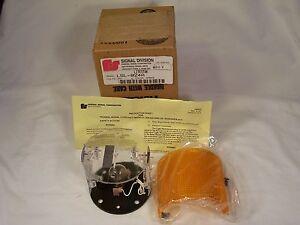federal signal litestak lsl 024a 24 volt amber stack light. Black Bedroom Furniture Sets. Home Design Ideas