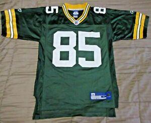 Details about NFL Green Bay Packers Reebok #85 Football Jennings Jersey Men's Small