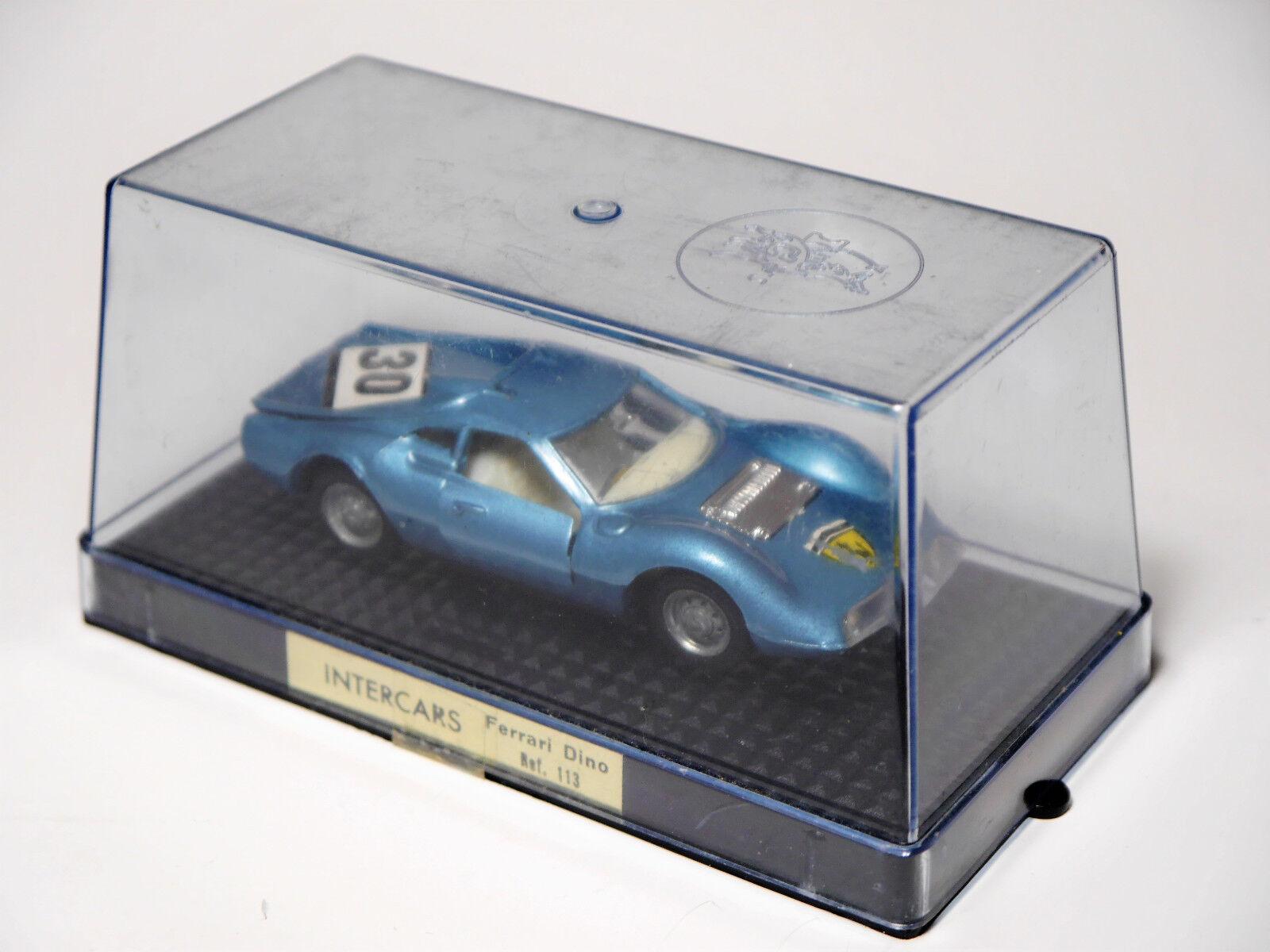 Ferrari Dino en Bleu Bleu bleu bleu Metallic  30 Nacoral intercars 113 1 43 en Boîte