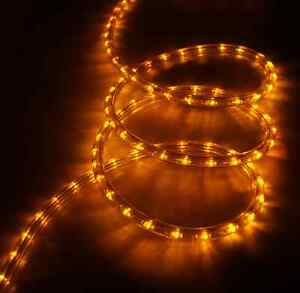 Led 3 wire static effect yellow rope light duralight tube light la imagen se est cargando 3 cable led luz de efecto estatica cuerda aloadofball Gallery