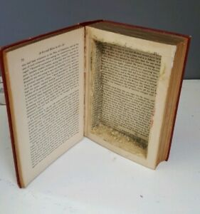 Image result for hollow book""
