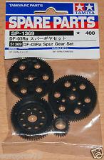 Tamiya 51369 DF-03Ra Spur Gear Set (DF03Ra/Rally), NIP