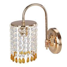 Fuloon Modern Kristall Wand Lampe Badezimmer Heim Schlafzimmer Spiegel Wall Lamp