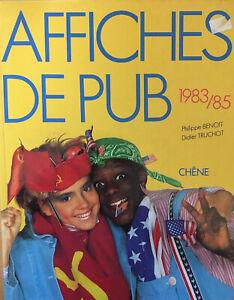 Affiches de pub 1983/85