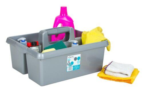 Heavy Duty Plastique Pratique Cuisine Tidy Nettoyage Boîte à outils utilitaire Caddy de conservation