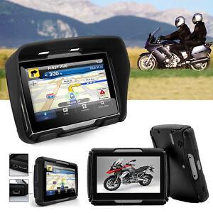 Motorrad-Bike-Lkw-Bus-Auto-Reise-4-3-Zoll-TFT-8GB-GPS-Navigationsgeraet-Bluetooth