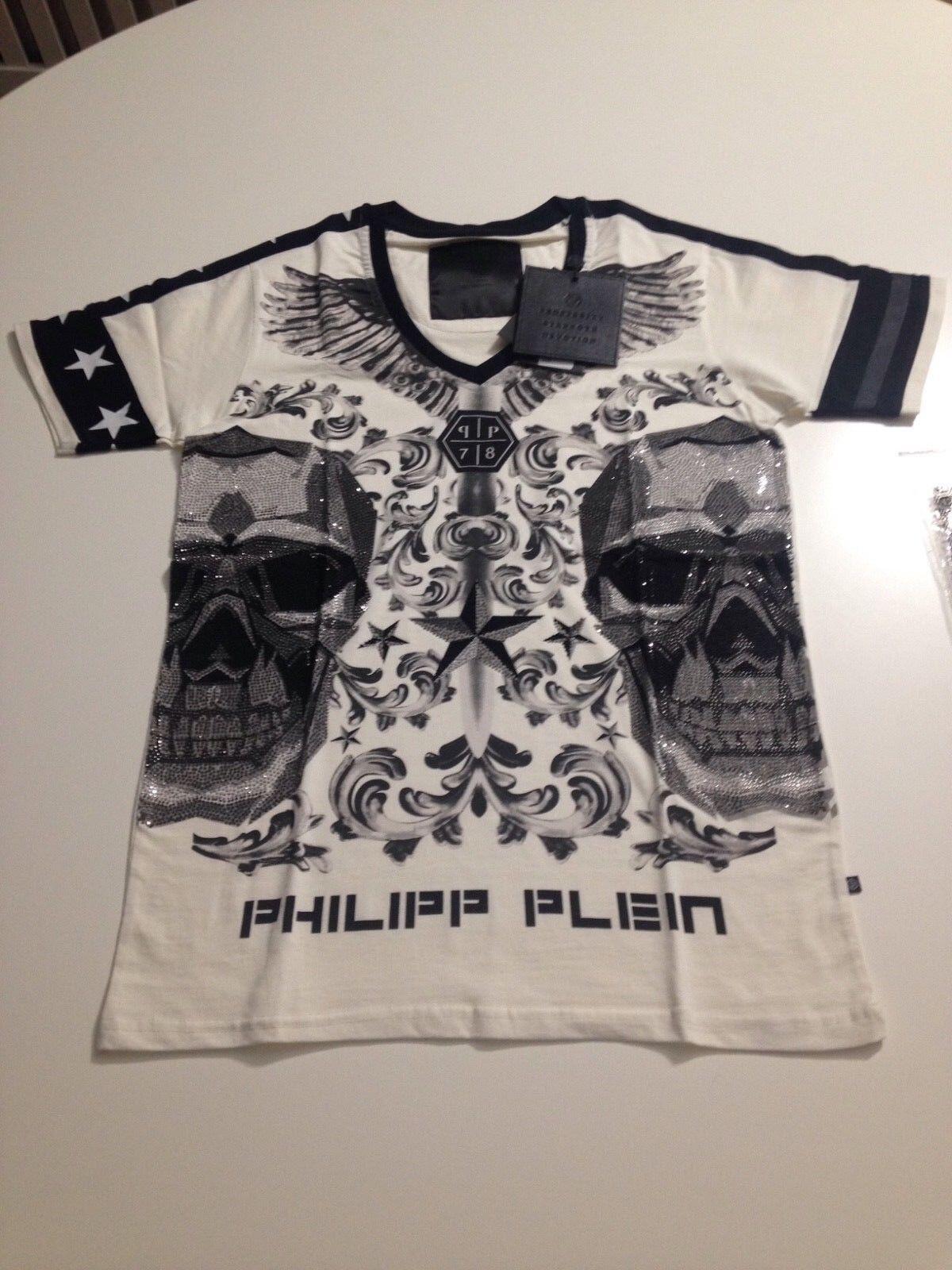 Philipp Plein t-shirt uomo taglia L. Originale