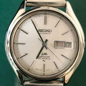 Vintage-Seiko-Lord-Matic-034-LM-Special-034-5206-6060-Automatic-23Jewels-Mens-Watch