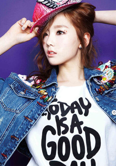 Girls Generation SNSD Taeyeon Today is a Good Day T-Shirt